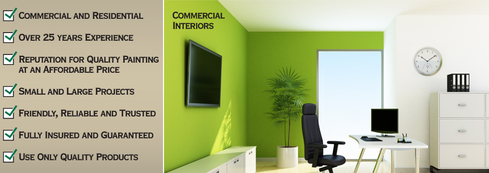 Painting Commercial Interiors Melbourne, Lilydale, Doncaster, Ringwood, Blackburn